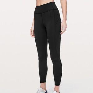 "lululemon athletica Pants & Jumpsuits - Lululemon in the movement tight ""25"